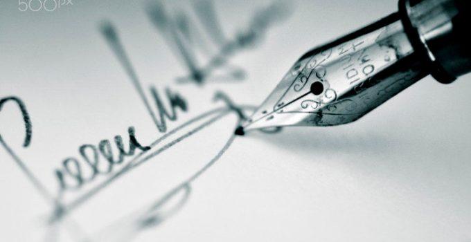membaca tanda tangan