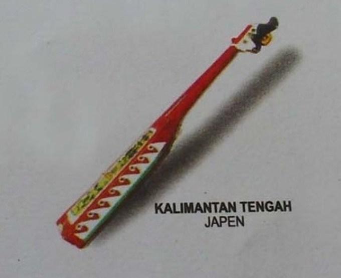 alat musik tradisional japen