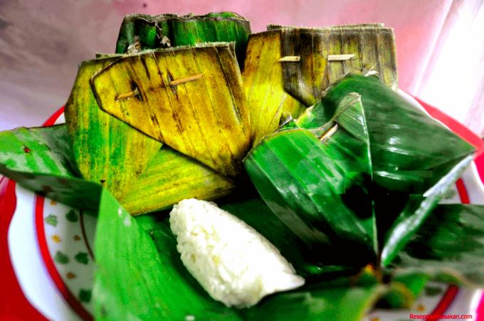 tape ketan merupakan makanan dari beras ketan
