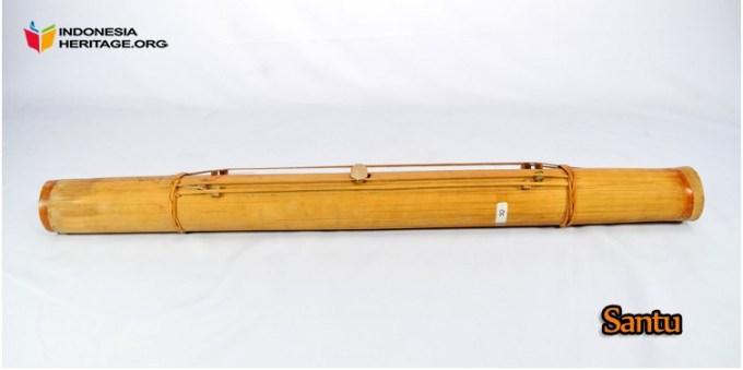 alat musik tradisional santu