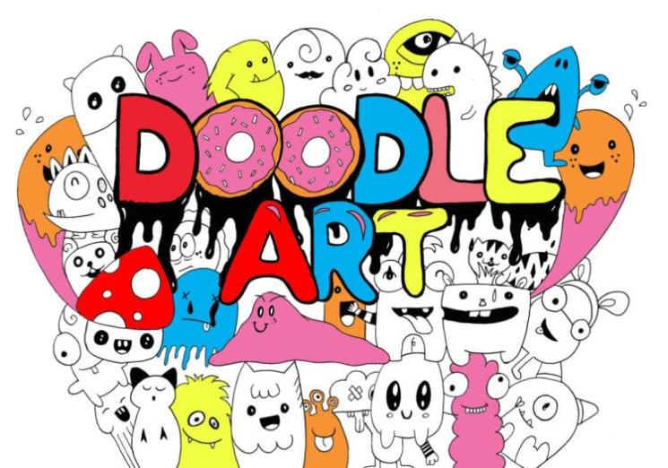 680 Gambar Doodle Di Helm Keren HD Terbaik