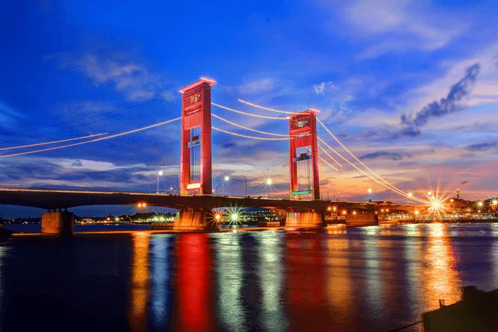 Jembatan Ampera Palembang Ikon Legendaris Bersejarah Di Sumatera