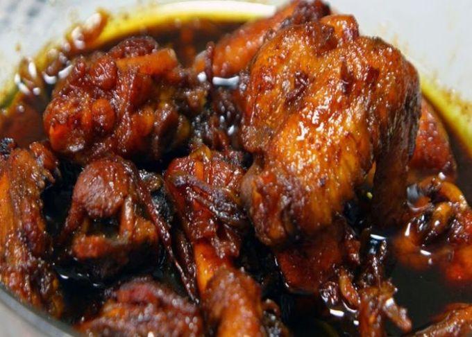 resep dan cara membuat ayam bumbu kecap