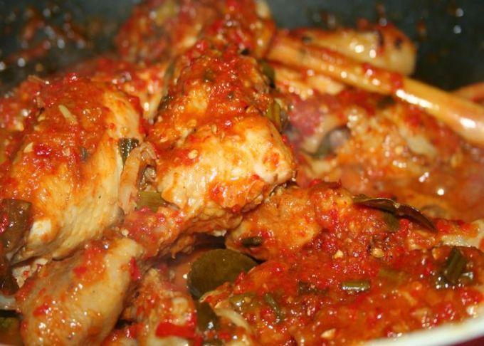 cara membuat dan resep ayam rica rica jawa