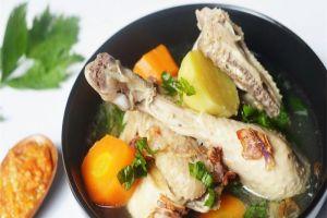 resep dan cara membuat sop ayam sop ayam pecok