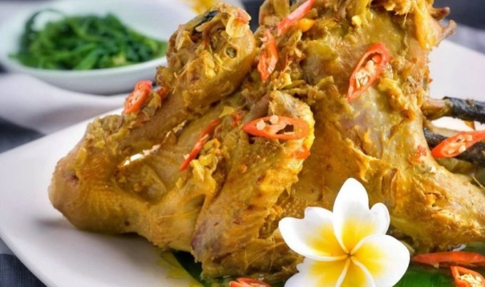 Cara Membuat dan Resep Ayam Betutu Goreng