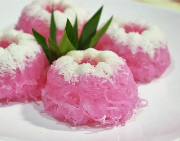 resep dan cara membuat Kue Putu Ayu Bihun