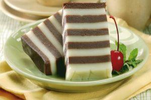 cara membuat dan resep kue lapis susu