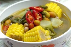 Cara Membuat dan Resep Sayur Asem Kuning