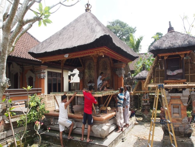 Pembagian Ruang Rumah Adat Bali