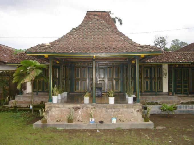 rumah kampung adat jawa tengah