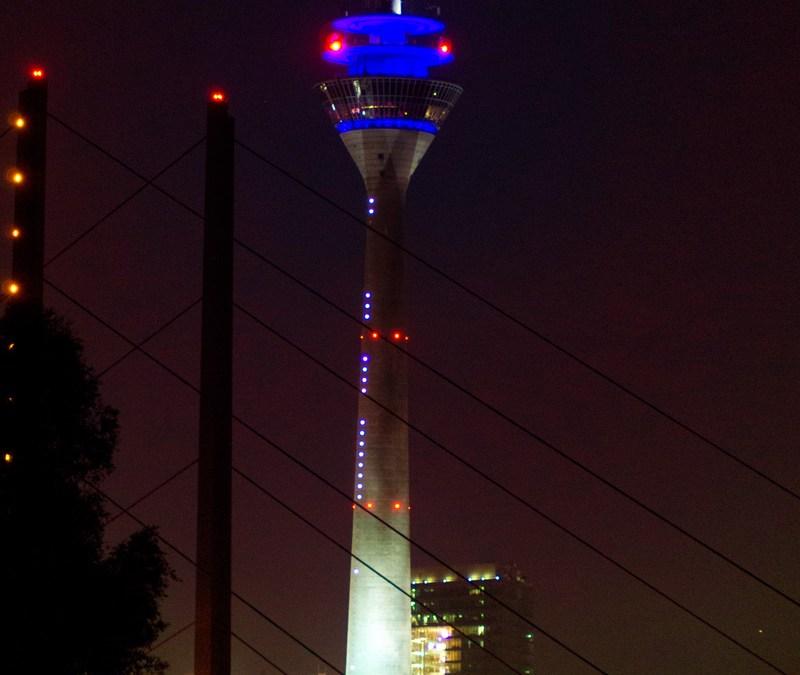 Düsseldorf@Night:8