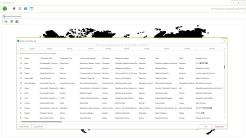 Der CorpusExplorer erlaubt das einfache Zuordnen von unterschiedlichen Ländernamen/Schreibweisen zu einem ISO-Code.