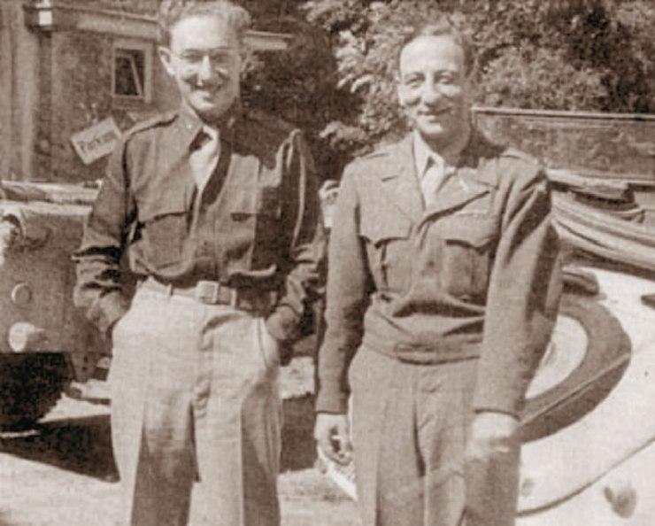 Fritz-Kraemer-and-Henry-Kissinger-1945