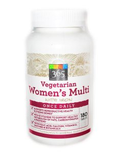 365 by Whole Foods (Vegetarian Women's Multivitamin with Iron)