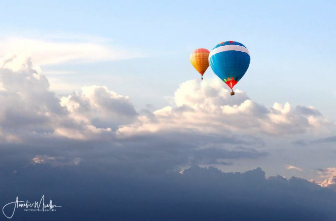 up up and away….