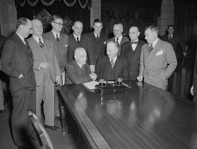 Nflnd joins Confed 1948