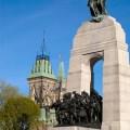 Le Monument commémoratif de guerre du Canada, Ottawa, Ontario, Canada