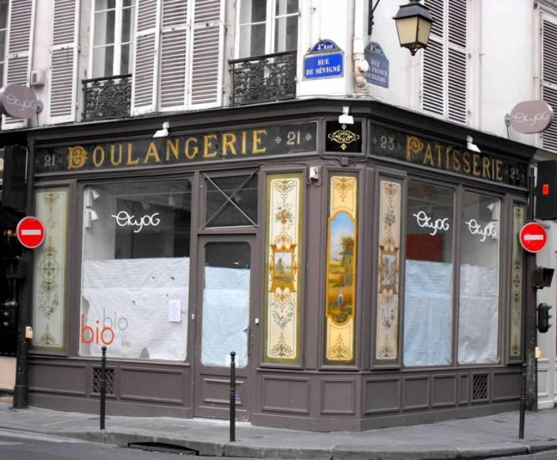 Boulangerie establiments a França