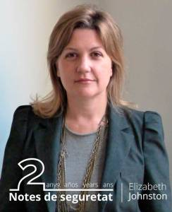 Elizabeth Johnston, Delegate-General of the European Forum for Urban Security (Efus)