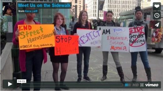 meet us on the sidewalk