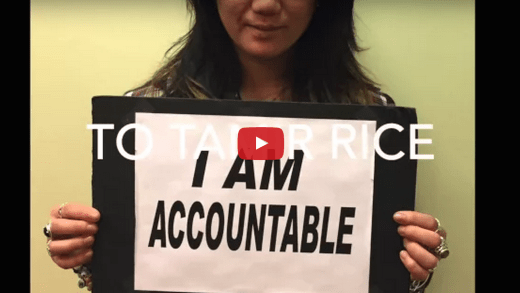 I am a social worker, and I am accountable