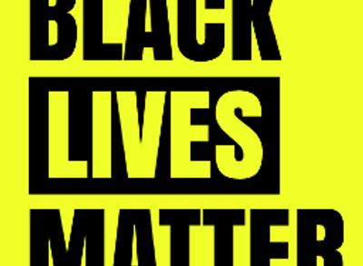Black lives Matter Logo Yellow