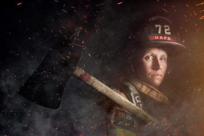 cc2016036 - Mindy Gabriel, firefighter, Upper Arlington, Ohio, f