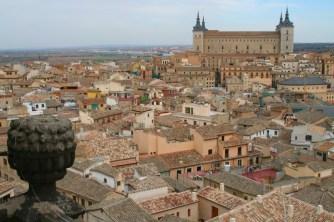 Views from Iglesia de San Ildefonso, Toledo, Castilla-La Mancha, Spain