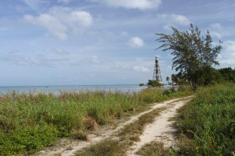 Lighthouse on Cayo Jutias, Cuba