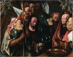 Christ Before Pilate by Hieronymus Bosch