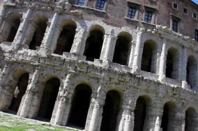 Teatro Marcello, Jewish district, Rome, Italy