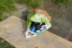 Spray cans, Street art event, Marconiplein, Rotterdam, Netherlands