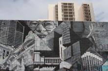 Dementia by Gaia, Street Art, Perth, Western Australia