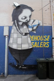 Lost Giant by Stormie Mills, Street Art, Perth, Western Australia
