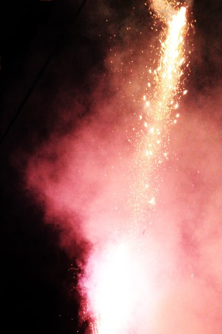 Fireworks mark the official start of the feria