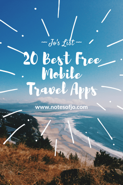 20 best free mobile travel apps