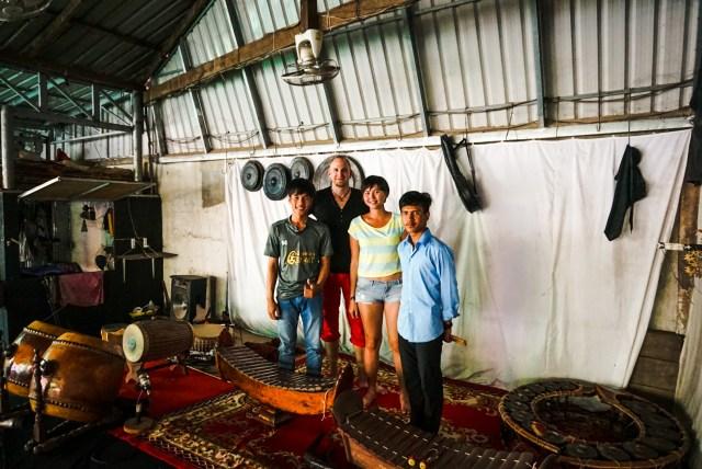 Cambodia vlog music experience