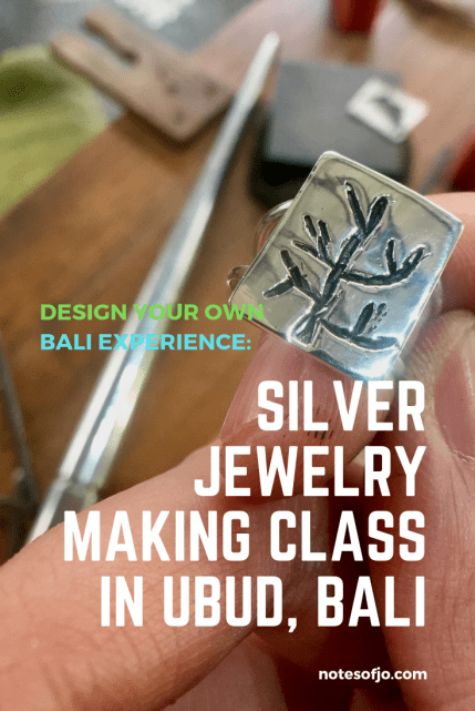 27cda95ad A pleasant afternoon at a Balinese traditional home. I arrived Chez  Monique's Balinese silver jewelry making class near central Ubud ...