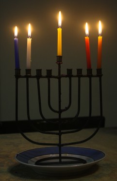 Hanukkah in Haifa