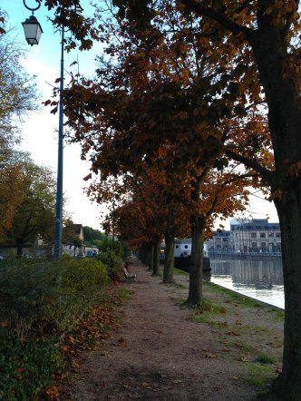 Troyes in the autumn.
