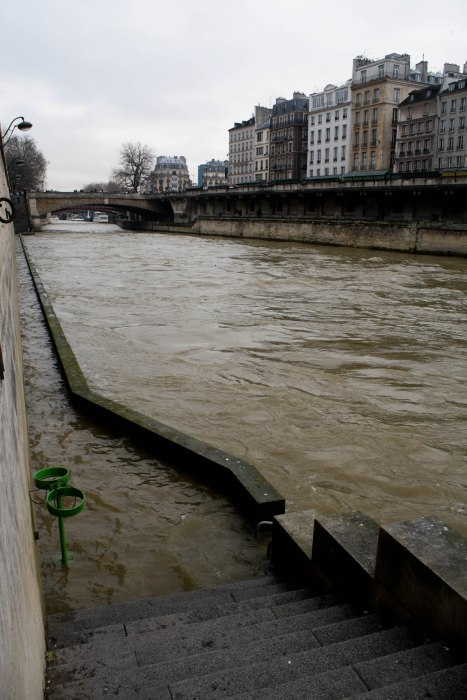 Well, I guess I won't be going for a walk along the Seine today!
