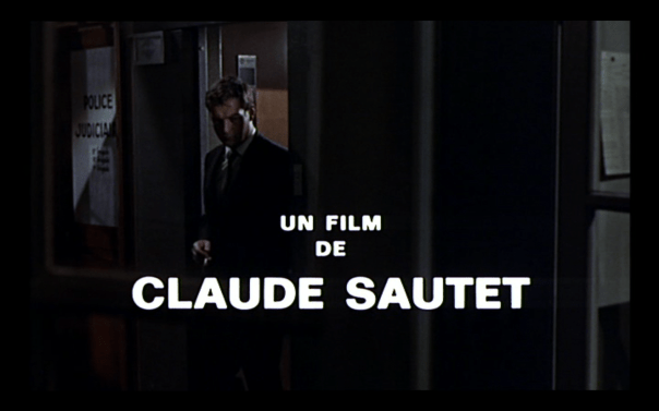 A noir by Claude Sautet
