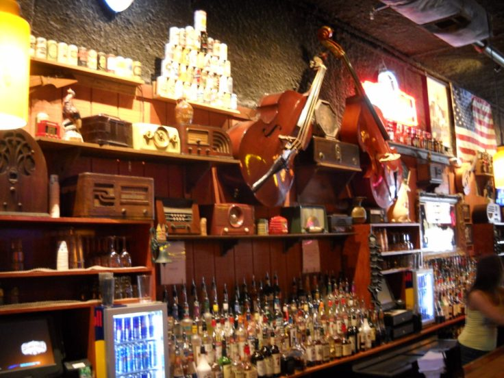 Bar at 2nd Fiddle, Honky Tonks