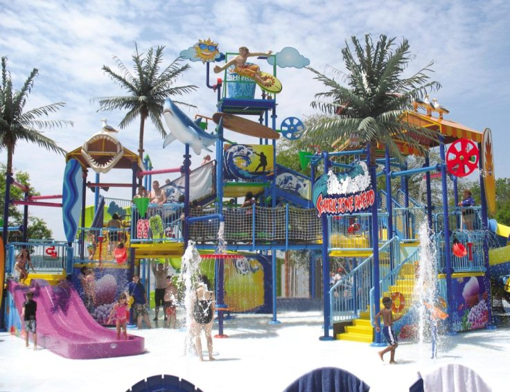 Kids will love the water play. Teenagers will go for the slides, wave pool and obstacle course.