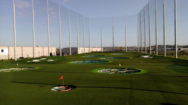 Adults and kids can enjoy TopGolf