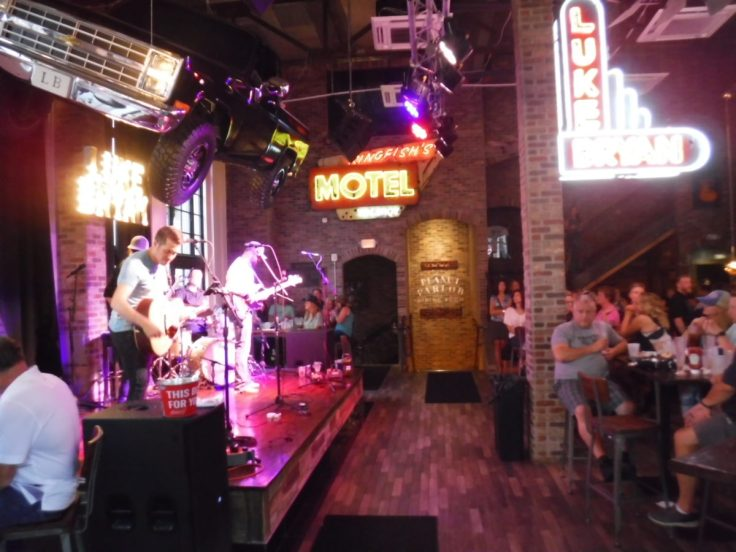 Luke's 32 Bridge--among the newest honky tonks in Nashville