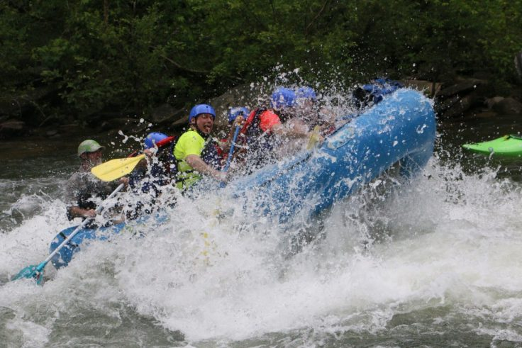whitewater on the Ocoee; outdoor adventure