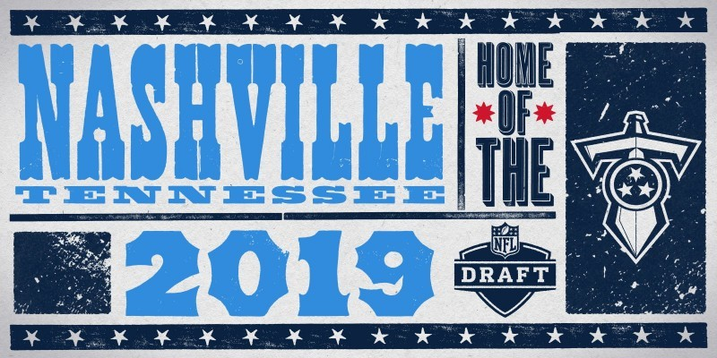 2019 NFL Draft in Nashville logo