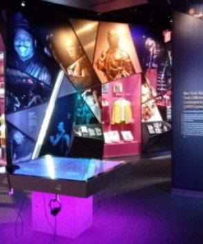 One Nation Under the Groove section--Nat'l Museum of African American Music